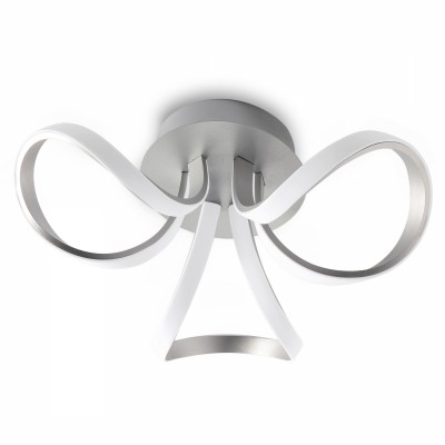 Plafoniera Knot Led Silver