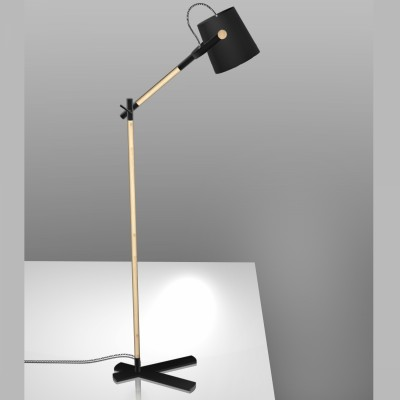Mantra 4921 Lampadar Nordica Black
