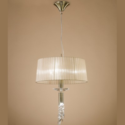 Mantra 3878 Suspensie Tiffany Antique