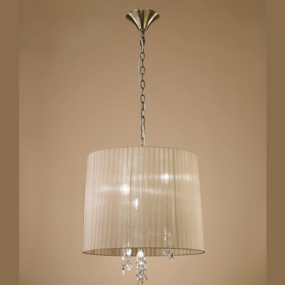 Mantra 3880 Suspensie Tiffany Antique