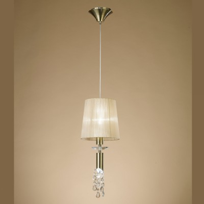 Mantra 3881 Suspensie Tiffany Antique