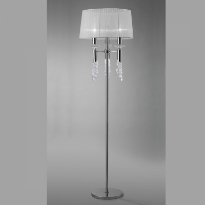 Mantra 3869 Lampadar Tiffany Chrome