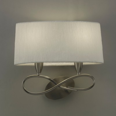 Mantra 3707 Aplica Lua Satin Nickel