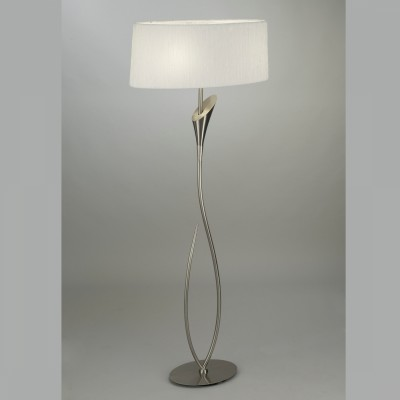 Mantra 3709 Lampadar Lua Satin Nickel